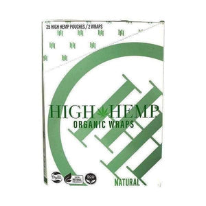 H H Organic Wraps - 25 Count-Rolling Wraps-Vape In The Box