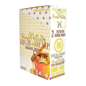 H H Organic Wraps - Honey Pot - 25 Count-Rolling Wraps-Vape In The Box