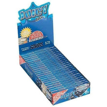 "Load image into Gallery viewer, Juicy Jay's Blueberry 1 1/4"" Rolling Papers"