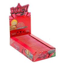 "Load image into Gallery viewer, Juicy Jay's Raspberry 1 1/4"" Rolling Papers-Rolling Papers-Vape In The Box"