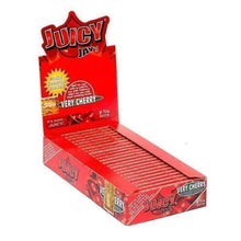 "Load image into Gallery viewer, Juicy Jay's Very Cherry 1 1/4"" Rolling Papers-Rolling Papers-Vape In The Box"