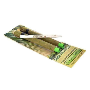 King Palm Super Slow Burning Wraps - King Size - 24 Count-Rolling Wraps-Vape In The Box