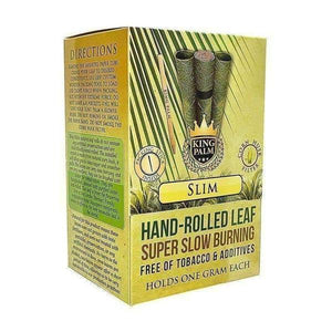 King Palm Super Slow Burning Wraps - KING XL - 50 Count-Rolling Wraps-Vape In The Box