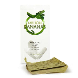 Million Bananas Natural leaf Wrap - 20 Count-Rolling Wraps-Vape In The Box