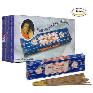 Nag Champa Regular 100g Incense Sticks 6packs-Incense & Air Freshener-Vape In The Box