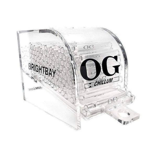 OG Glass Chillum100ct Acrylic Display Made in USA-Glass Accessories-Vape In The Box