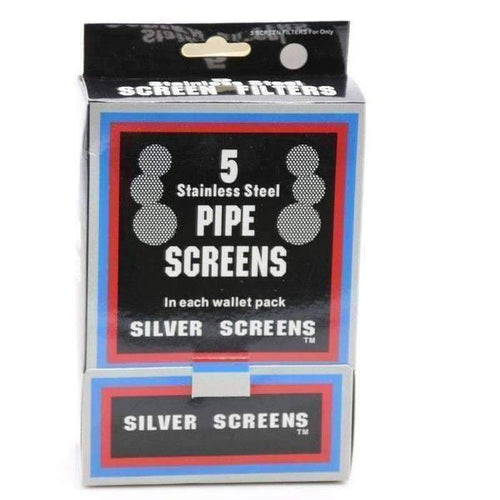 Pipe Screen Box Silver 100ct-General Merchandise-Vape In The Box