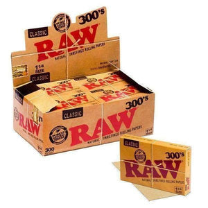 Raw Classic 300 Rolling Paper Pack 20pk-Rolling Papers-Vape In The Box