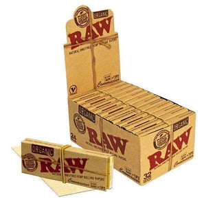 "RAW Connoisseur Organic 1 1/4"" Rolling Paper-Rolling Papers-Vape In The Box"