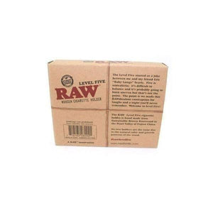 RAW Level Five 5 Cigarette Holder-Rolling Papers-Vape In The Box