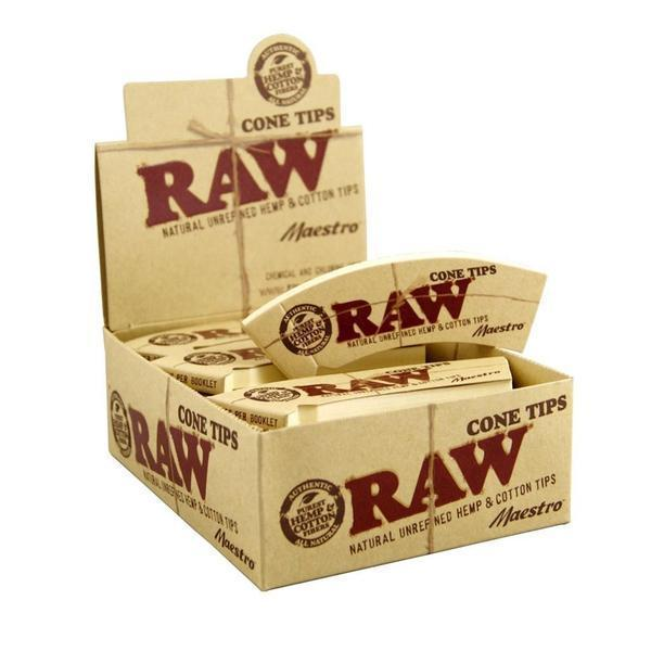 RAW Maestro Cone Tips-Rolling Tips-Vape In The Box