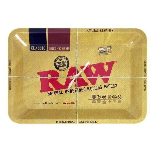 Raw Mini Rolling Tray-Rolling Trays-Vape In The Box