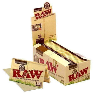 "RAW Organic 1 1/2"" Rolling Papers 25 packs-Rolling Papers-Vape In The Box"