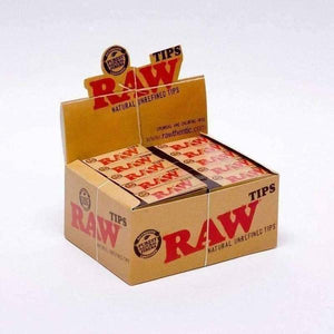Raw Rolling Paper Tips-Rolling Tips-Vape In The Box