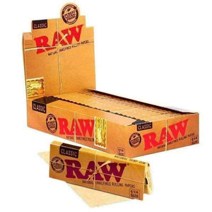 Raw Rolling Papers 1 1/4 Classic 24ct-Rolling Papers-Vape In The Box