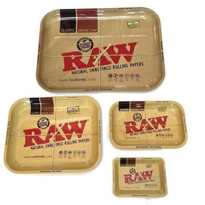 Raw Rolling Tray -Mini-Small-Large-XL-Rolling Papers-Vape In The Box