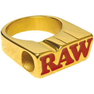 Raw Smoke Ring – 24K Gold Plated-General Merchandise-Vape In The Box