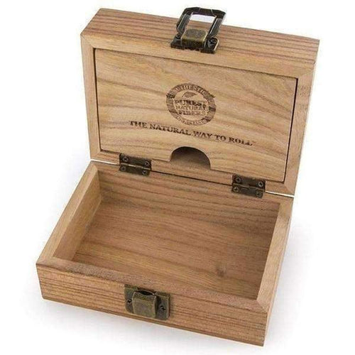 Raw Wooden Stash Box-General Merchandise-Vape In The Box