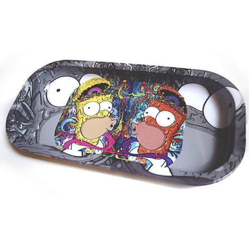Rolling Trays: Trippy Homer-Rolling Trays-Vape In The Box