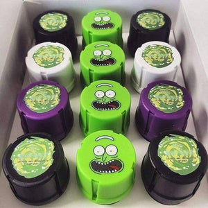 Schwifty Collection Grinders by MedTainer Display (Official Rick-n-Morty Theme)-Grinders-Vape In The Box