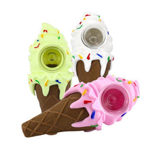 Load image into Gallery viewer, Silicone Ice Cream Pipe assorted colores