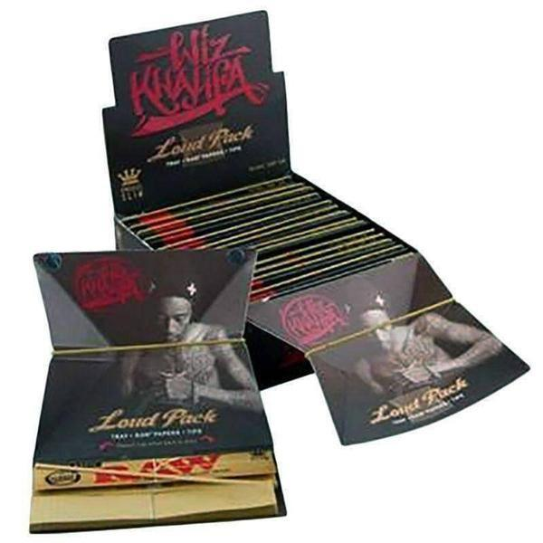 The Wiz Pack Khalifa - King Size Slim Rolling Papers with Tips-Rolling Papers-Vape In The Box