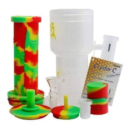 Waxmaid MAID Cystor C Silicone Water Pipe-Water Pipes-Vape In The Box
