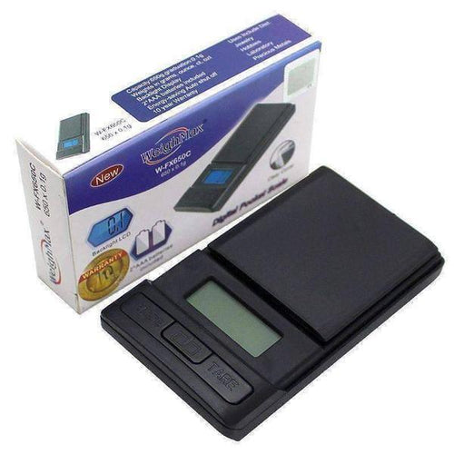 WeighMax FX-650 Digital COin/Jewelry Pocket Scale-General Merchandise-Vape In The Box
