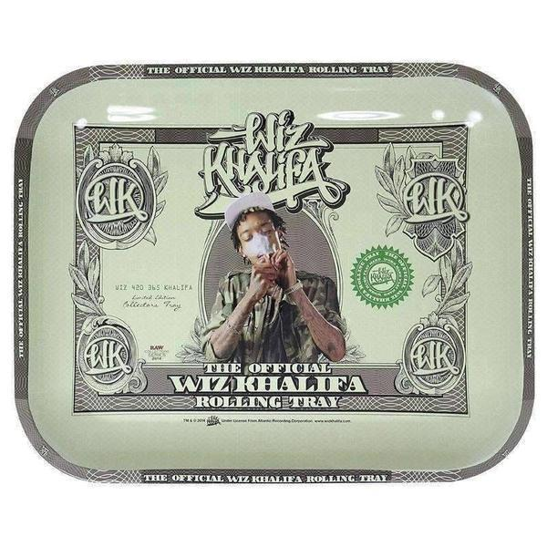 Wiz Khalifa Large Rolling Tray - Limited Edition-Rolling Trays-Vape In The Box