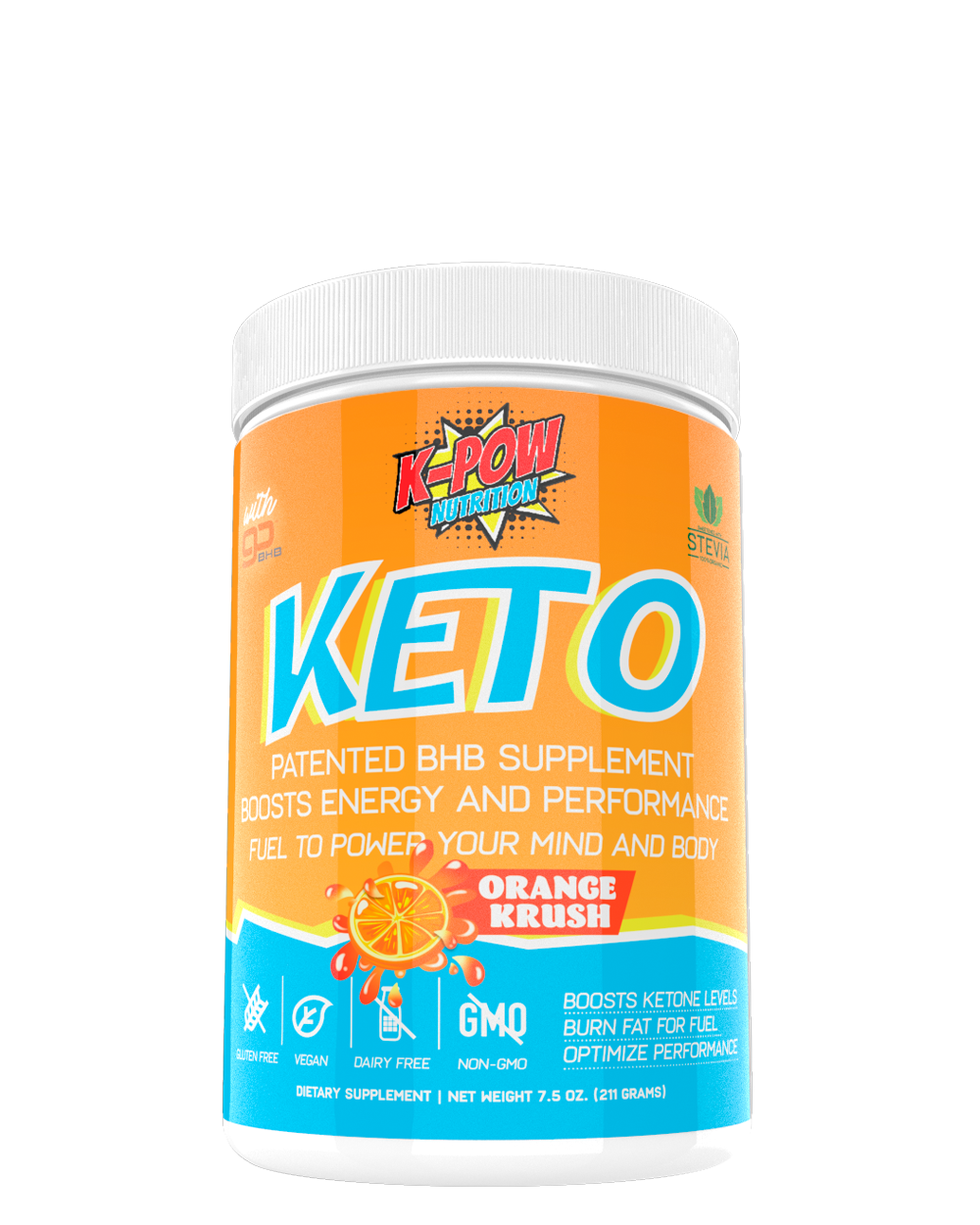 K-POW Keto - 30 Servings