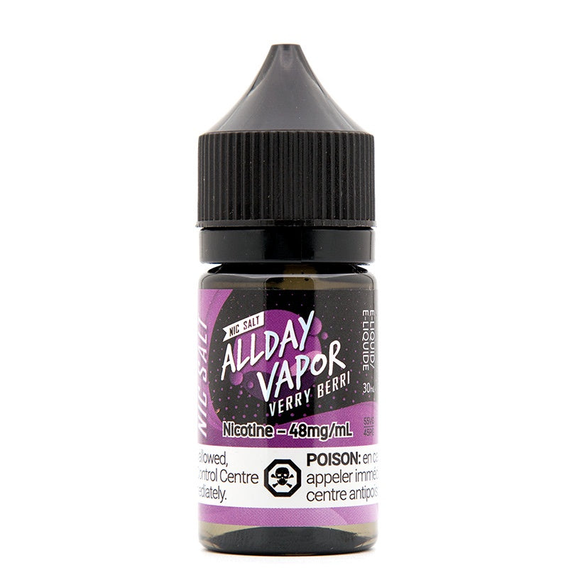 Verry Berri Nic Salt - All Day Vapor (30mL)