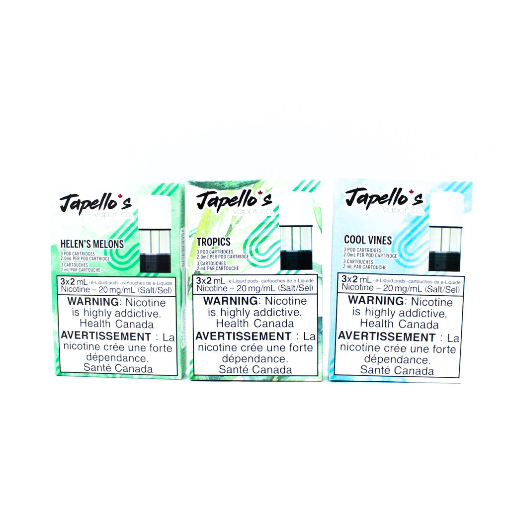 STLTH Japellos - 3 pack (6ml)