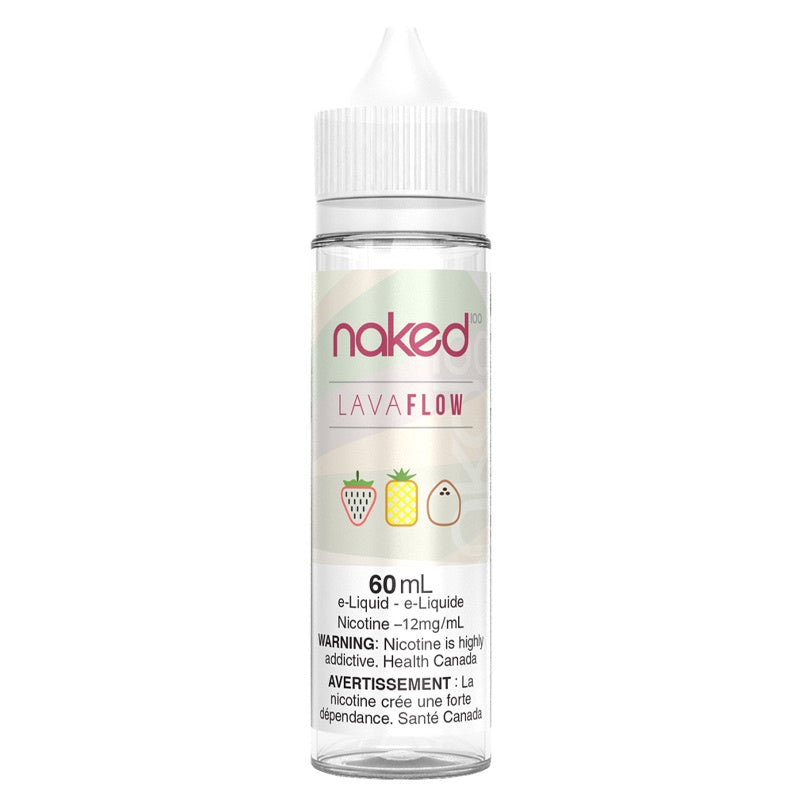 Lava Flow E-Liquid - Naked 100 (60mL)