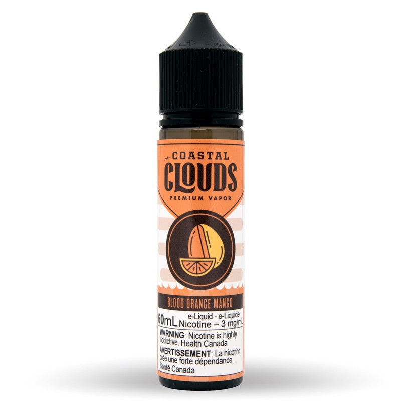 Blood Orange Mango Sub-Ohm Salts - Coastal Clouds (60mL)