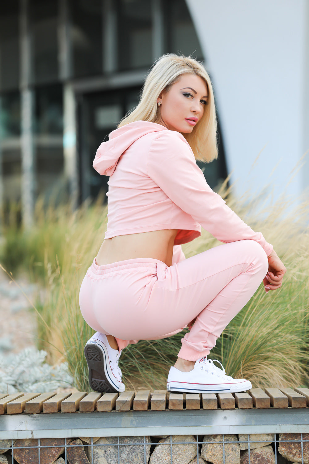 Womens Comfy Joggers Pink