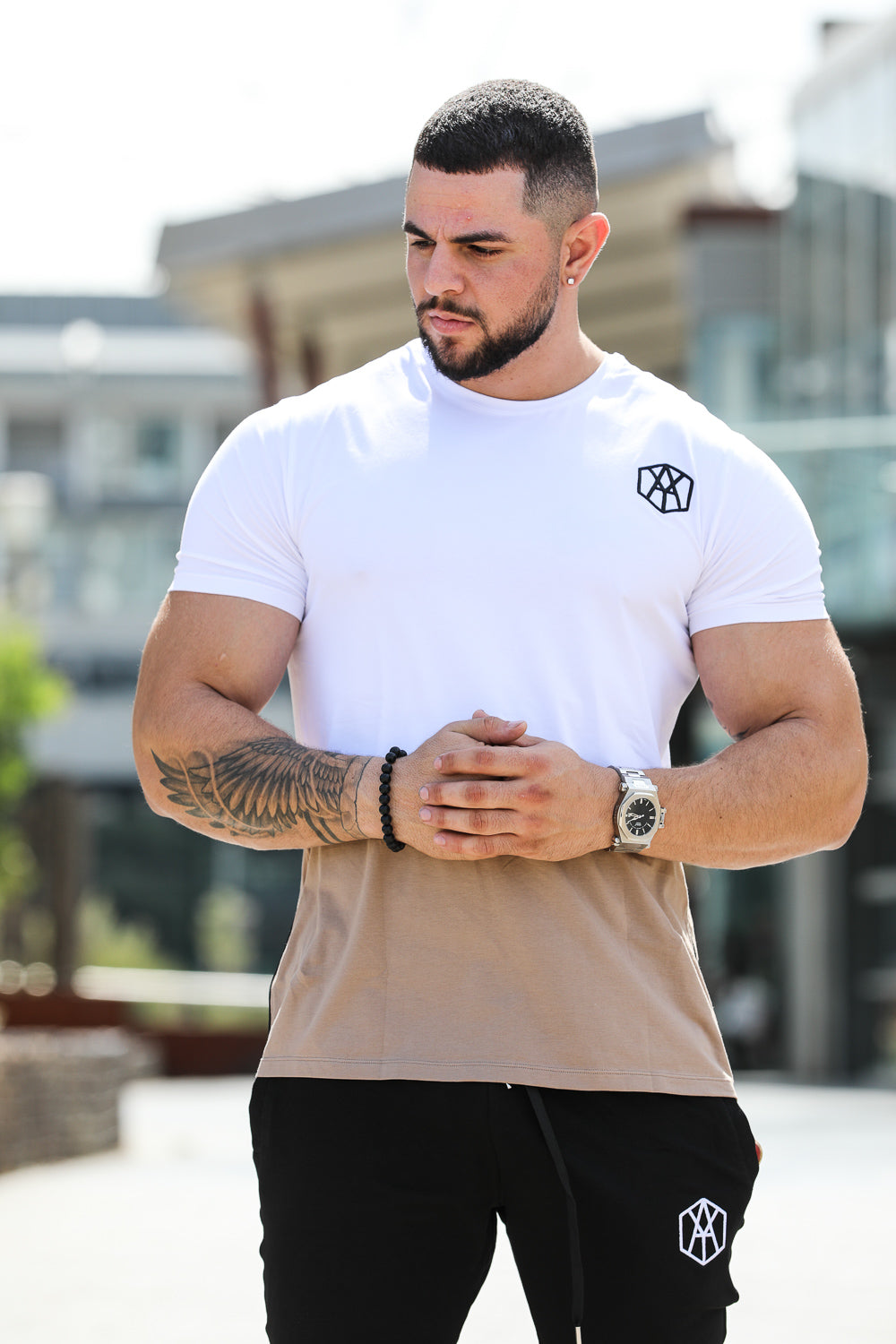 Mens Casual Long Tees