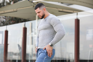 Mens Compression Top Grey