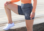 Womens Bike Shorts Grey