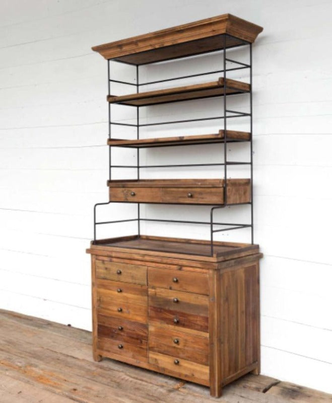 Old Pine Baker's Rack