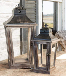 Pleasant Valley Lanterns Set of 2