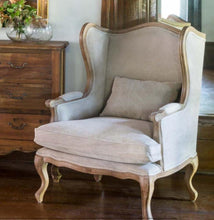 Farmer's Wingback Chair
