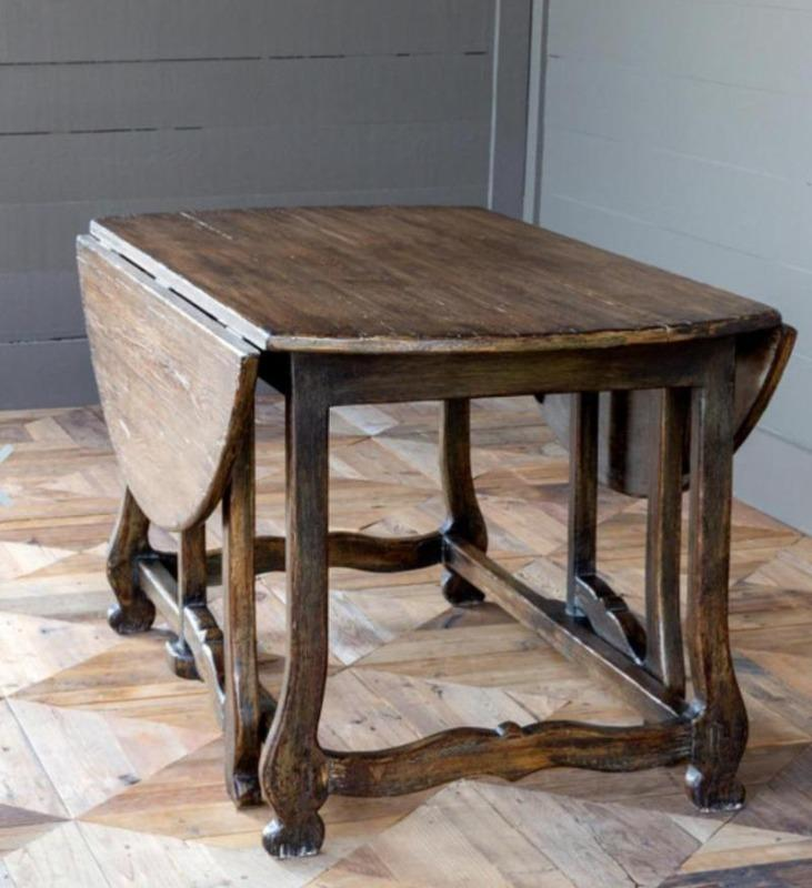 Gate Leg Round Table