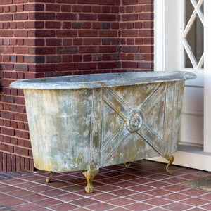 French Bathtub Planter