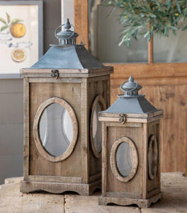 Dormer Lanterns Set of 2