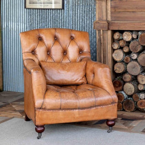 Charlie Tufted Club Chair