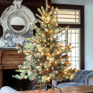 4.5 ft Park Hill Blue Spruce LED
