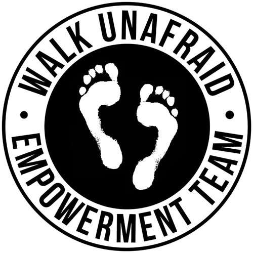 WALK UNAFRAID Empowerment Team™ Die Cut Stickers