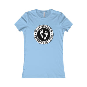 WALK UNAFRAID™ Women's Favorite Bella Logo Tee