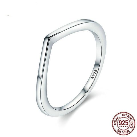 2018 New Authentic 925 Sterling Silver Shining Wish Female Ring Finger Ring for Women Sterling Silver Ring