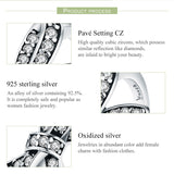 Authentic 925 Sterling Silver Finger Trendy Bowknot 3 Size Wedding Rings for Women Engagement Ring